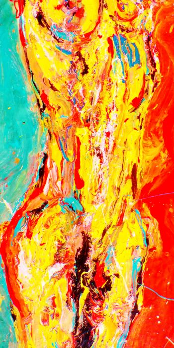 A Law to Oneself 1, detail - Nudes