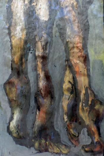 The Answer Steps Soundless - Paintings 2016
