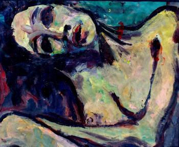 Eyes Burned, No Brightness Sleeps - Paintings 2016