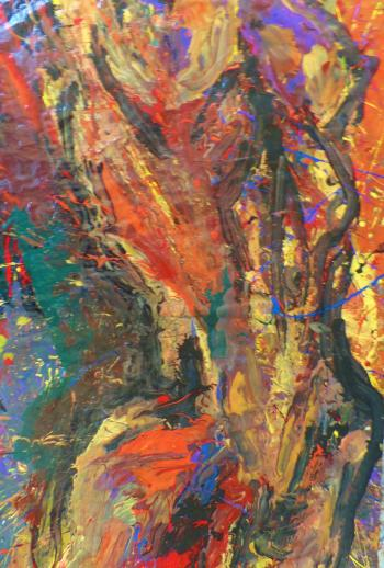 Dance of Autumn Fire - Paintings 2017