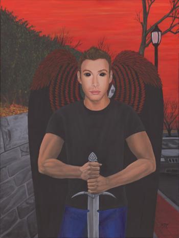 Red Angel - Kathy Mccaffrey
