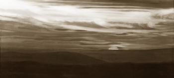 Sunset - sepia - Kathy Mccaffrey