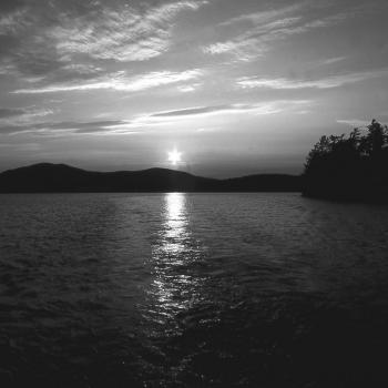 Twilight Glow (B&W) - Armand Vanderstigchel