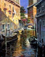Quiet Alleyways Of Venice