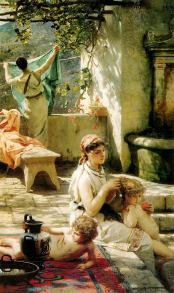 Sunny Yard - Ruben Bore
