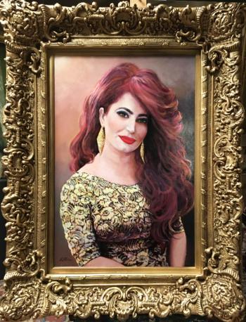 Portrait of a Lady - Ruben Bore