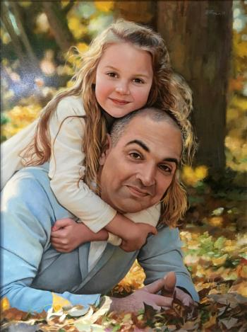 Father-dauther - Ruben Bore