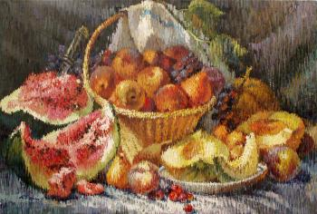 Water Melon Still-Life - Ruben Bore