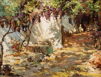 Wine Yard in my Back yard - Ruben Bore