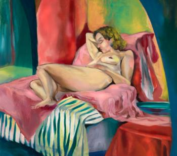 Reclined Woman - Kathleen Izzo