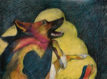 Smiling Dog - Kathleen Izzo